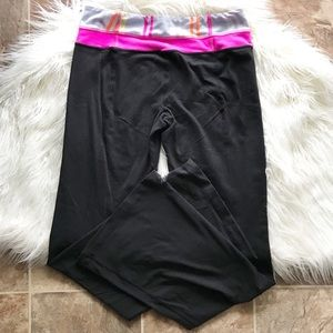 LULULEMON reversible wide leg yoga pants